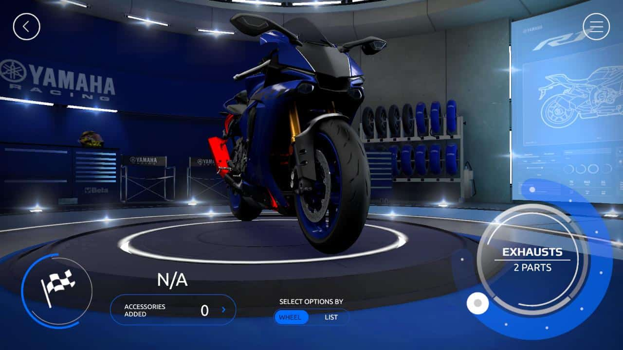 Yamaha mygarage